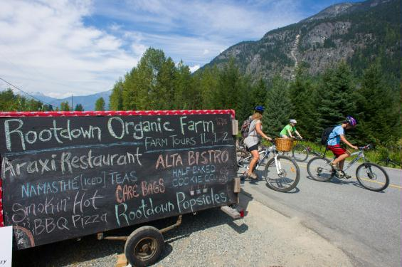 slow food cycle pemberton