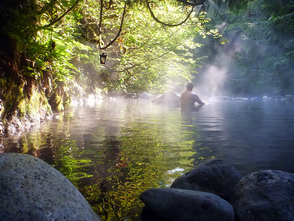 guide to pemberton hot springs